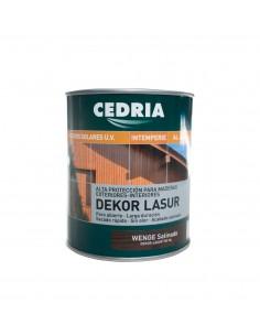 Lasur protector para madera DEKOR LASUR CEDRIA