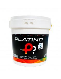 Esmalte al agua especial paredes y techos PLATINO PINTUROM