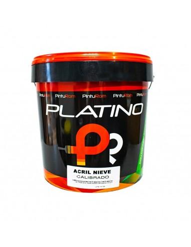 Plástico platino ACRIL NIEVE PINTUROM 14 L.