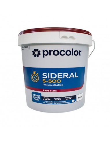Pintura Plástica mate SIDERAL S-500 PROCOLOR