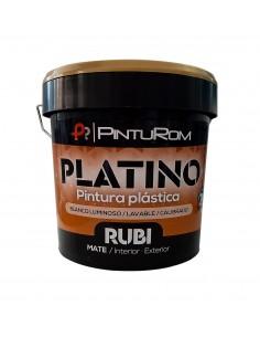 Pintura plástica Platino RUBI PINTUROM
